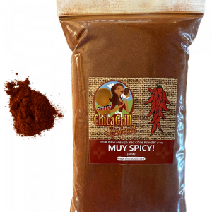 Chicagrill.com New Mexico Powdered Red Chile - Muy Spicy (HOT)